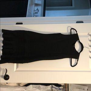 Black tank dress - A line
